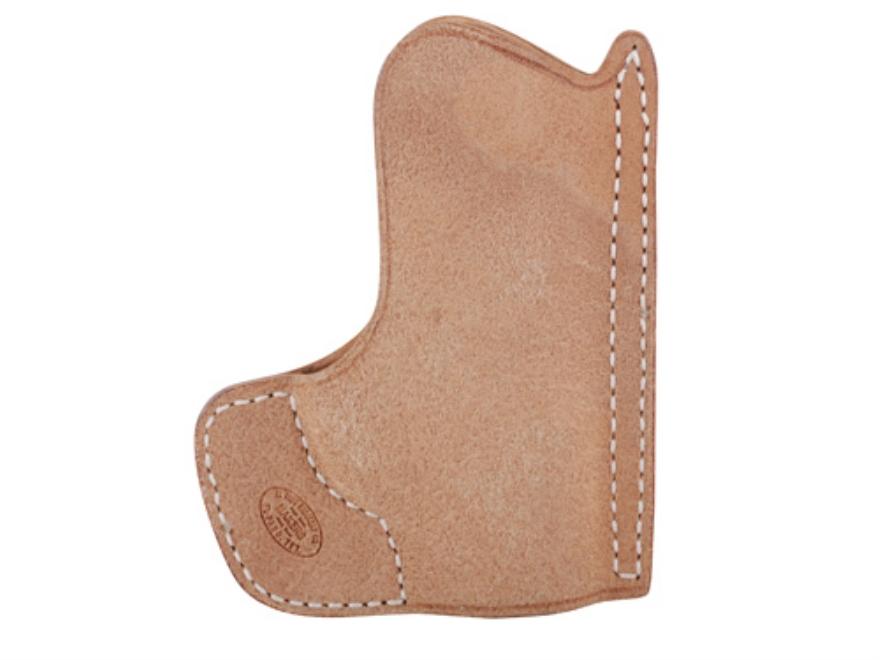 El Paso Saddlery Pocket Max Pocket Holster Ambidextrous Ruger LCP Horsehide Natural