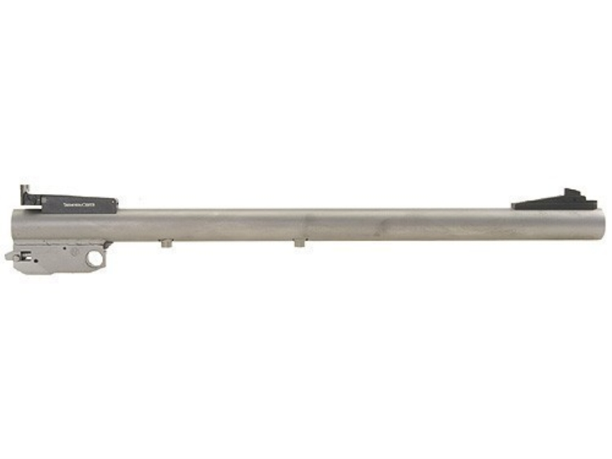 "Thompson Center Barrel Thompson Center Contender, G2 Contender 22 Long Rifle Match Medium Contour 1 in 15"" Twist 14"" Stainless Steel Adjustable Sights"