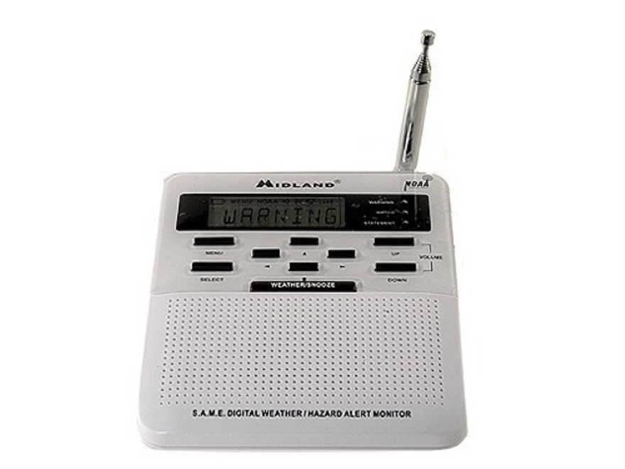 Midland WR-120 All Hazard Alert Weather Radio