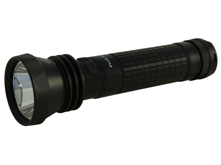 Fenix TK41 Flashlight LED requires 8 AA Batteries Aluminum Black