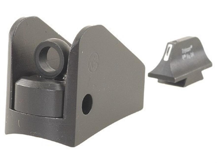 XS 24/7 Tactical Shotgun Sight Set Remington 870,1100, 11-87 Steel Matte Tritium Bar Front, Winged Rear