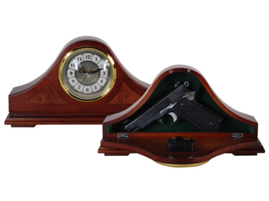 Personal Security Products Mantle Gun Concealment Clock