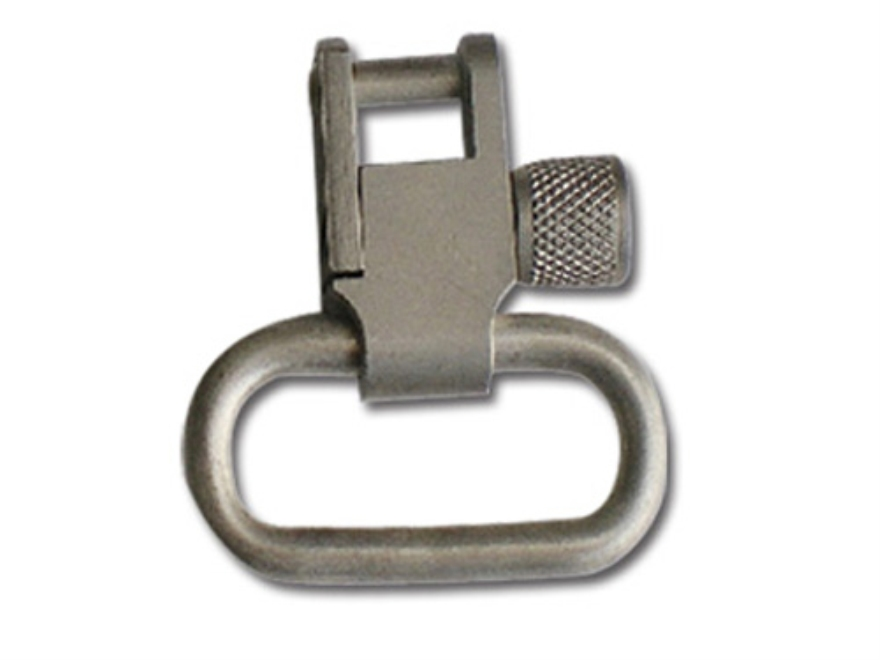 "GrovTec Locking Sling Swivels 1-1/4"" Satin Nickel Plated (1 Pair)"