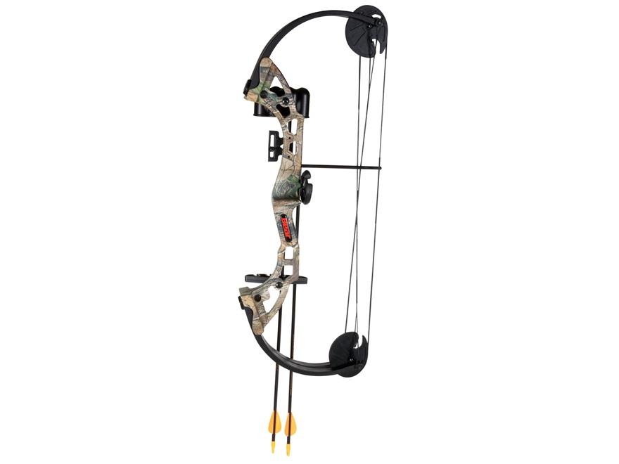 "Bear Archery Warrior Youth Compound Bow Package Right Hand 24-29 lb 19-25"" Draw Length ..."