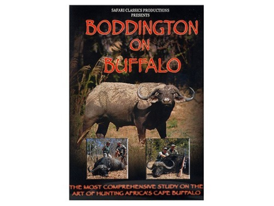 "Safari Press Video ""Boddington on Buffalo"" DVD"