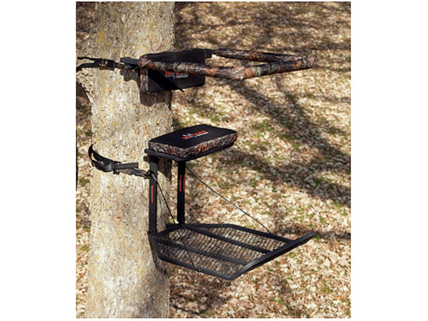 big game treestands the boss XL review - YouTube