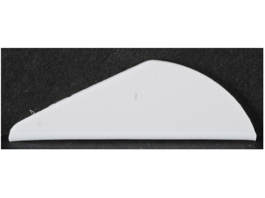 "Bohning Mini Blazer Vane Arrow Fletching 1-1/2"" White Pack of 100"