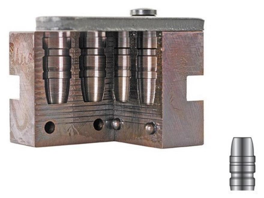 Lyman 2-Cavity Bullet Mold #429650 44 Special, 44 Remington Magnum (430 Diameter) 300 G...
