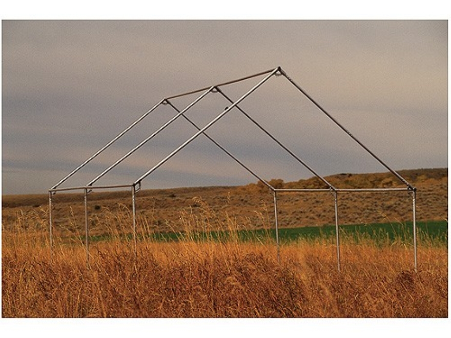 Montana canvas spike 3 12 39 x 12 39 wall tent frame aluminum for How to build a canvas tent frame
