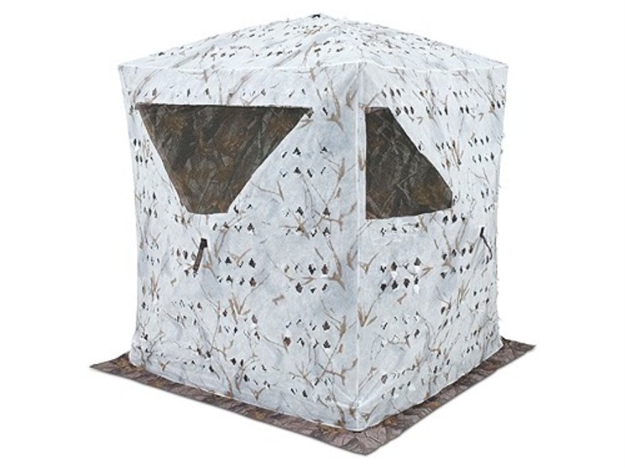 Ameristep Snow Cover fits Ameristep Hub Blinds Polyester Ameristep Snow Tangle Camo