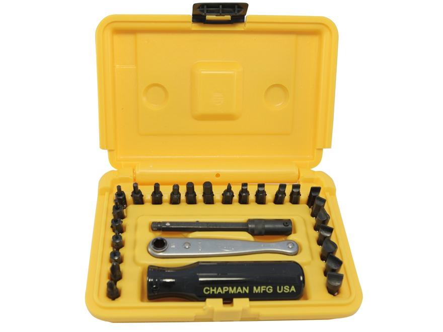 Chapman Model 8900 27 Piece Deluxe Screwdriver Set