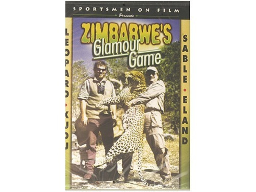 "Sportsmen on Film Video ""Zimbabwe's Glamour Game: Leopard, Eland, Sable, Kudu"" DVD"