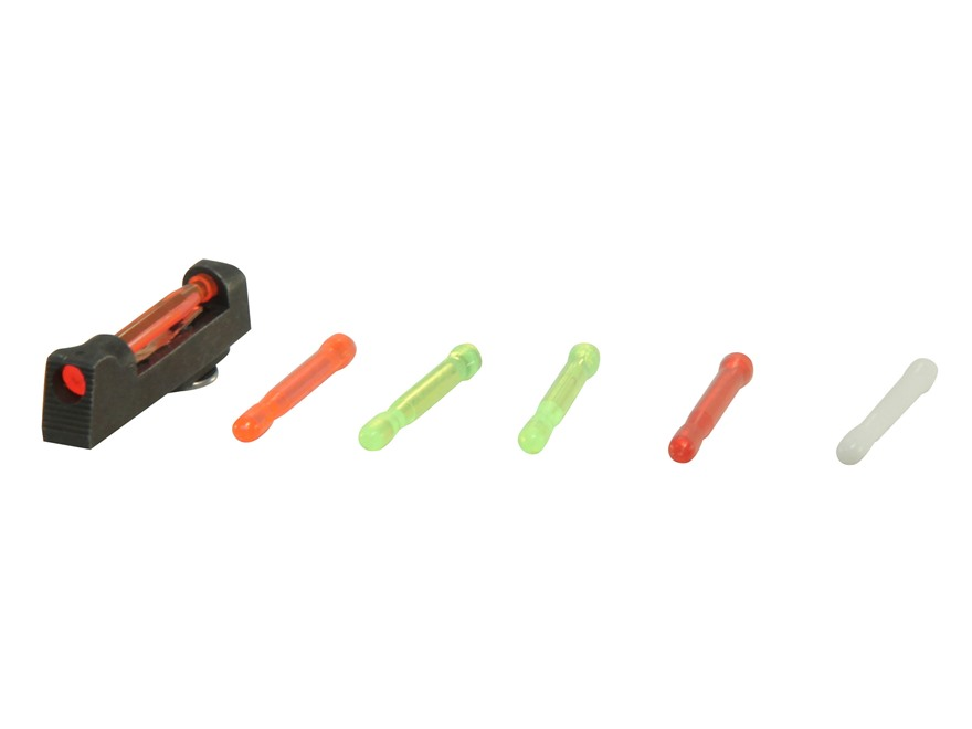 HIVIZ Front Sight Walther P22 Steel Interchangeable Fiber Optic Green/Red