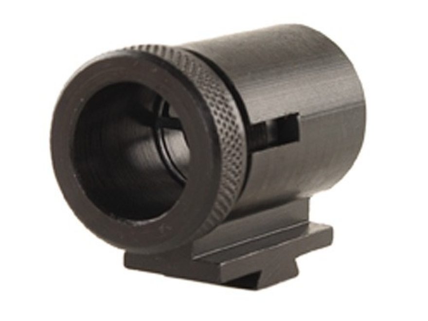 "Lyman Globe Front Target Sight #20MJT .700"" Height .3/8"" Dovetail with Insert Set Steel Blue"