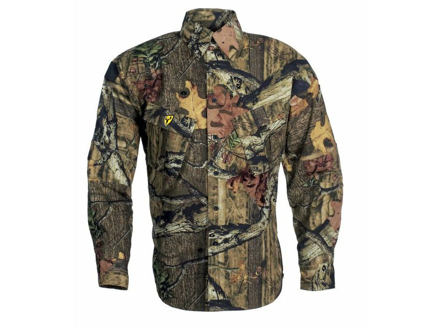 ScentBlocker Men's Recon Lifestyle Long Sleeve Shirt