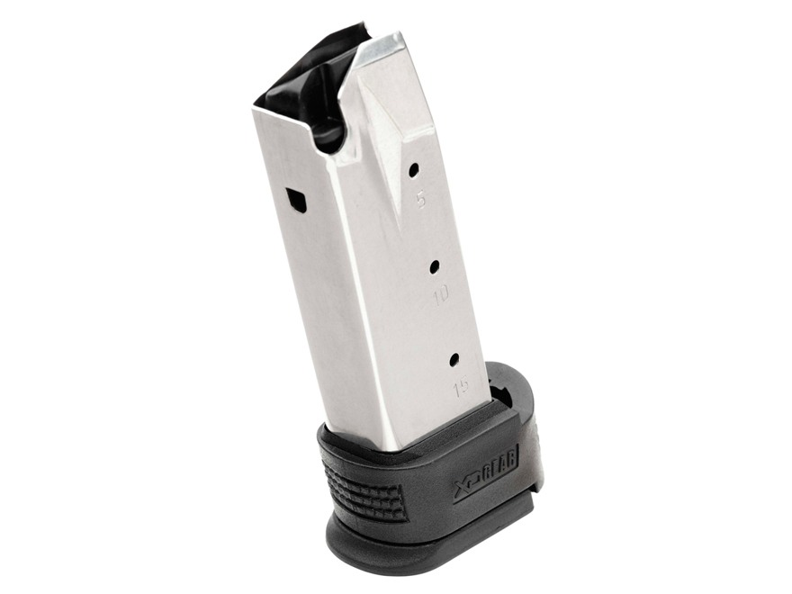 Springfield Armory Magazine Springfield XD Sub-Compact 9mm Luger 16-Round with Grip Sleeve Stainless Steel