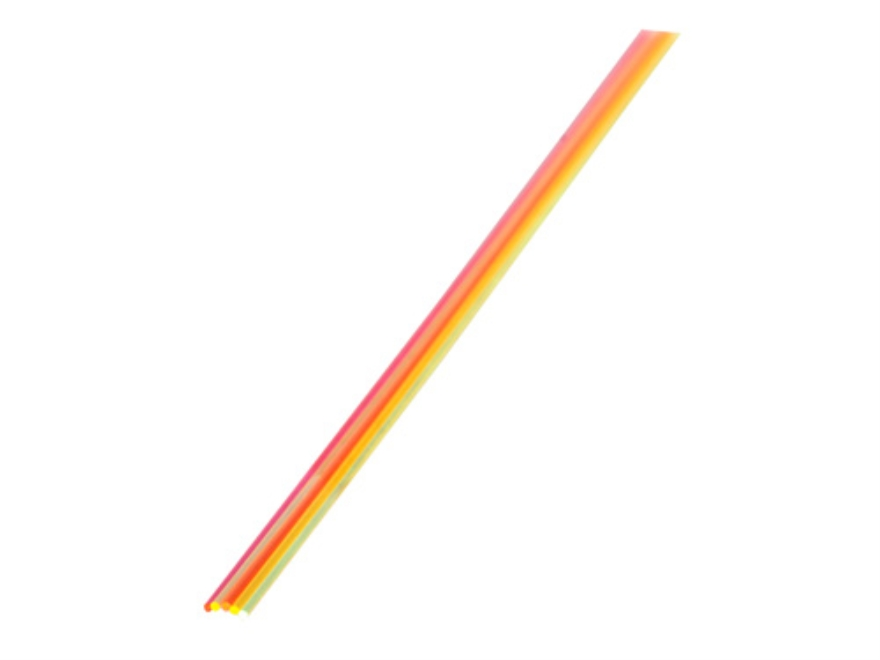 """TRUGLO Replacement Fiber Optic Rod 5.5"""" Long Green, Orange, Red, Ruby Red, Yellow Package of 5"""