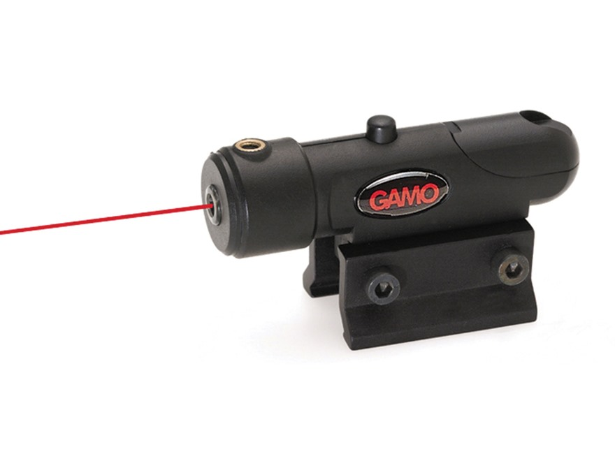 Gamo Airgun Red Laser Sight 650 Matte with Weaver Mount