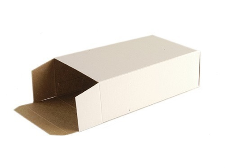 MidwayUSA Folding Cartons 44 Special, 44 Remington Magnum, 45 Colt Cardboard White Box of 500