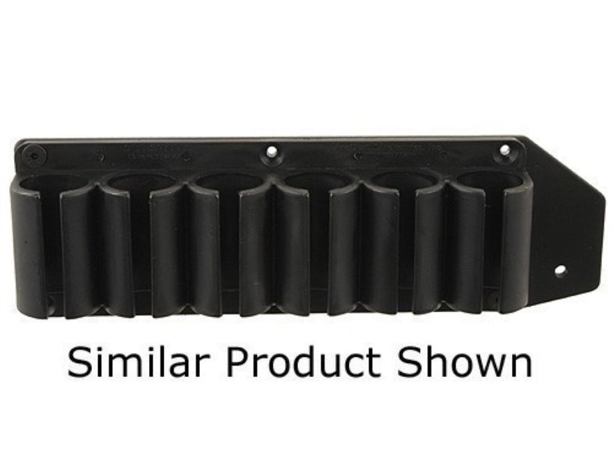 TacStar SideSaddle Shotshell Ammunition Carrier 12 Gauge 6-Round Ithaca 37 Black