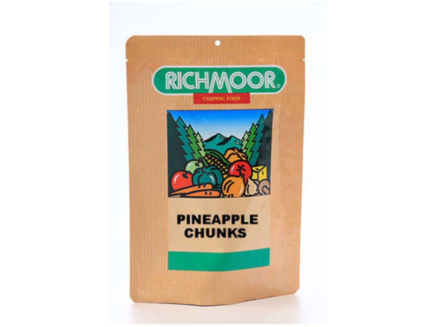 Richmoor Pineapple Chunks Trail Snack Freeze Dried Meal 2.75 oz
