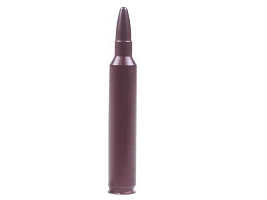 A-ZOOM Action Proving Dummy Round, Snap Cap 300 Remington Ultra Magnum Aluminum Package of 2