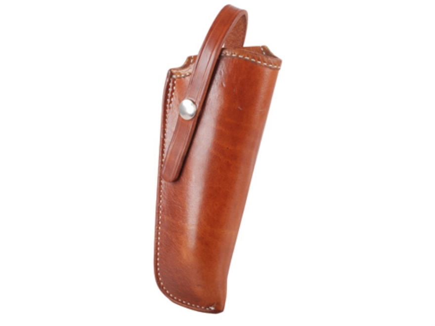 "El Paso Saddlery 1920 Tom Threepersons Outside the Waistband Holster Right Hand Colt Single Action Army, Single Six 5.5"" Russet Brown"