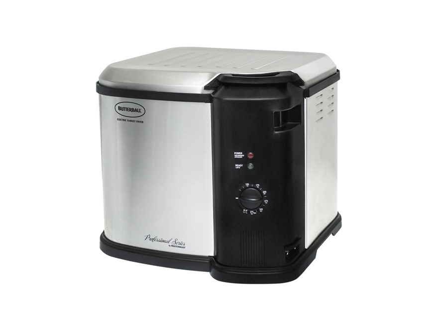 Butterball Indoor Electric Turkey Fryer with Digital Timer Stainless Steel