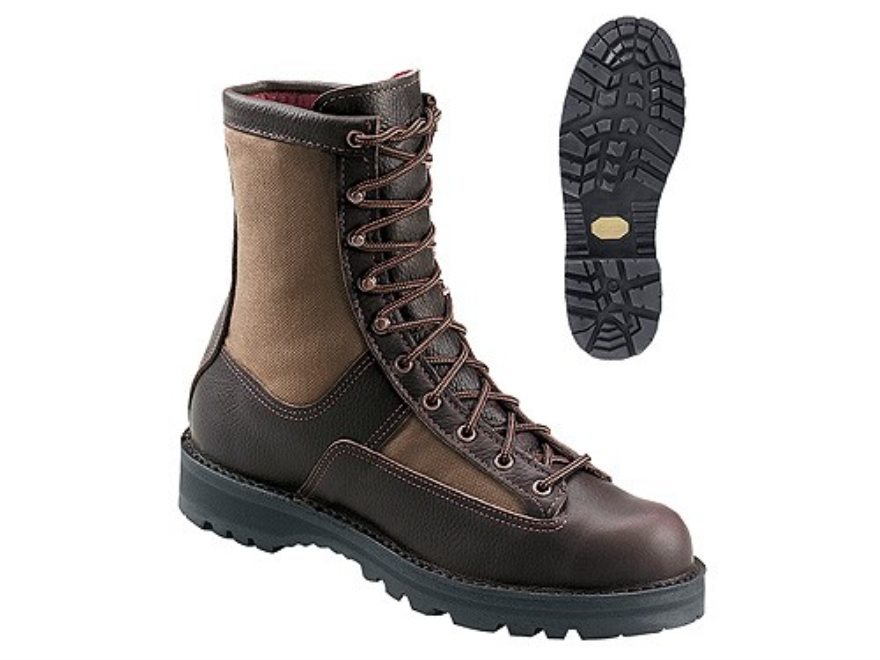 "Danner Sierra 8"" Waterproof 200 Gram Insulated Hunting Boots Leather and Nylon Brown Me..."