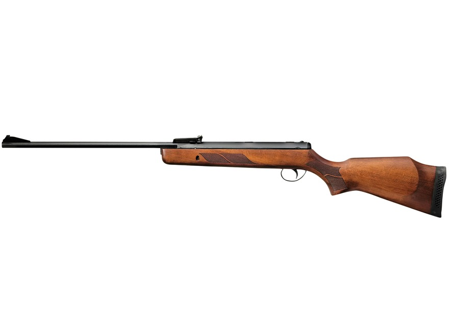 BSA Supersport Air Rifle 25 Caliber Wood Stock Blue Barrel