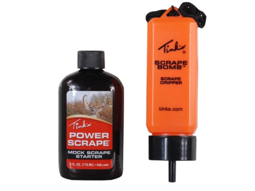 Tink's Power Scrape Mock Scrape Starter Deer Scent Combo Pack
