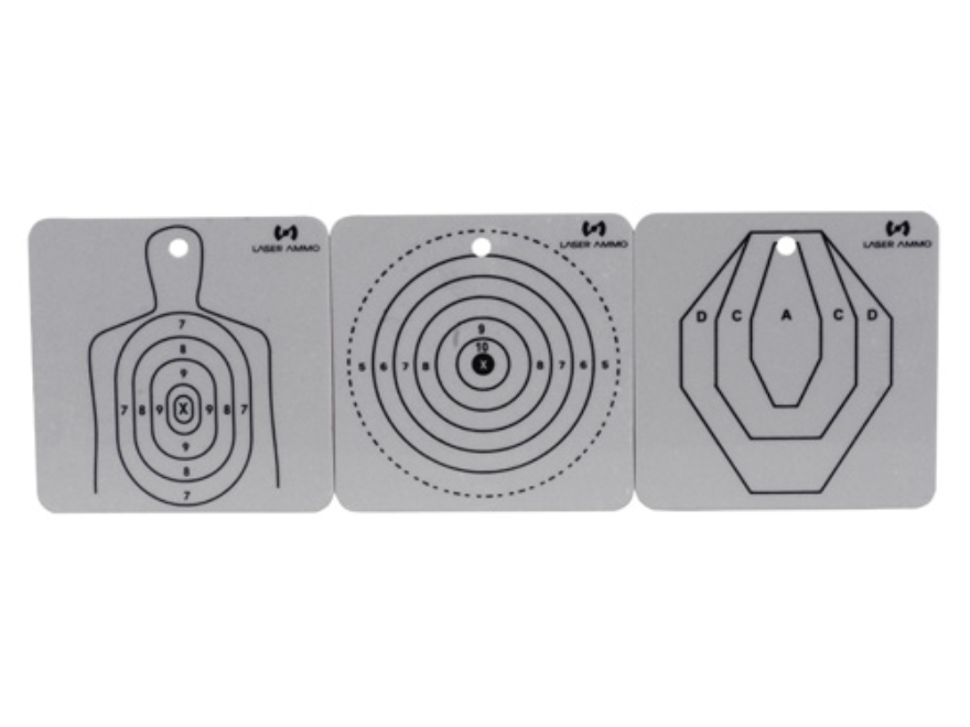 Laser Ammo SureStrike Dry Fire Training System Reflective Targets Package of 6