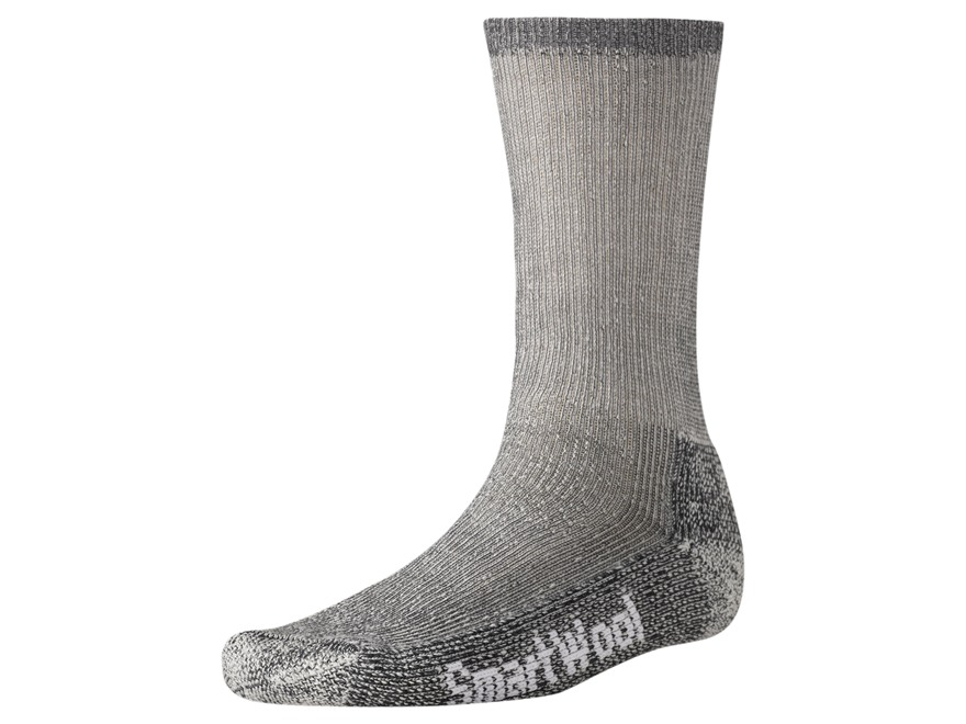 Smartwool Trekking Heavy Crew Socks Wool Blend Gray Men's Large (9-11-1/2)
