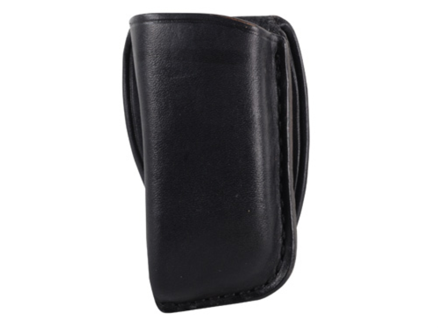 El Paso Saddlery Single Magazine Pouch Double Stack 45 ACP, 10mm Magazine Leather