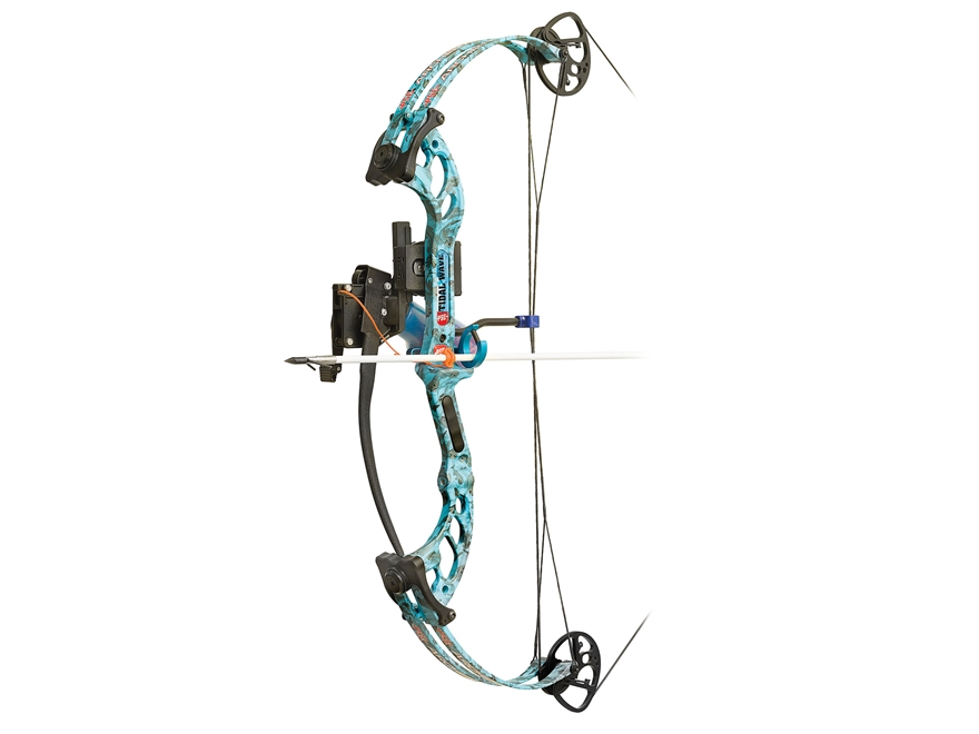 "PSE Tidal Wave Compound Bowfishing Package Right Hand 40 lb 30"" Draw Length Reaper H2O Camo"