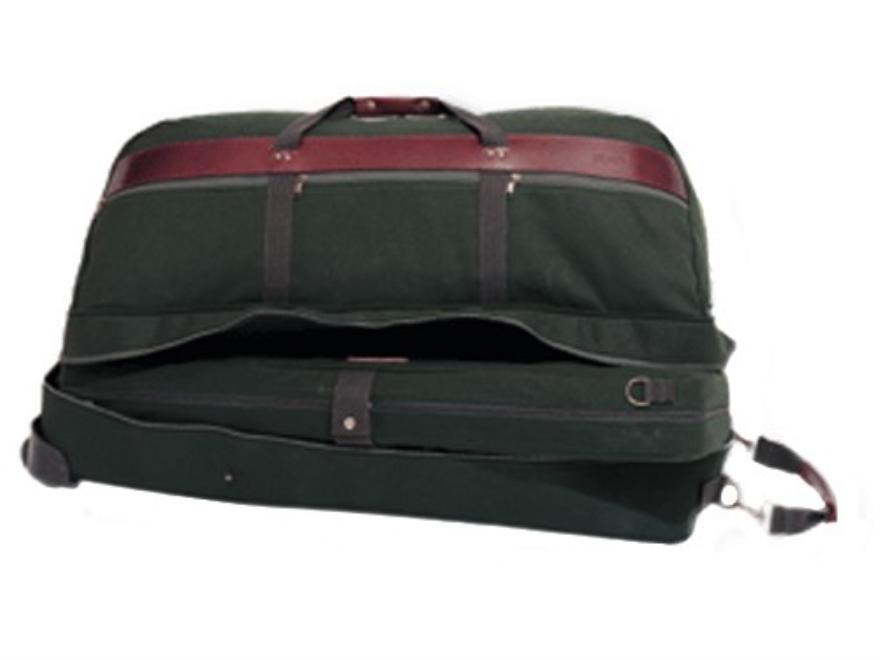"""Boyt Covey Bag Rolling Duffel 36"""" x 17"""" x16"""" Canvas Green"""