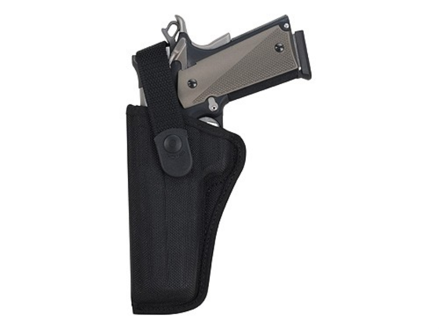 Bianchi 7000 AccuMold Sporting Holster CZ 75, Glock 17, 20, 21, 22, Ruger P89, P90, P91, P94 Nylon Black