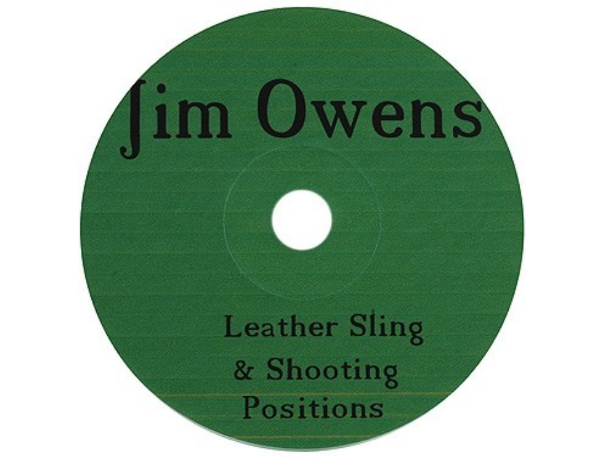 "Jim Owens ""Leather Sling and Shooting Positions"" CD-ROM"