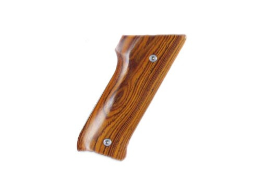 Hogue Fancy Hardwood Grips Ruger Mark II with Right Hand Thumbrest