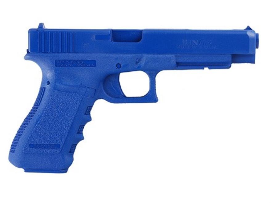 BlueGuns Firearm Simulator Glock 34 Polyurethane Blue