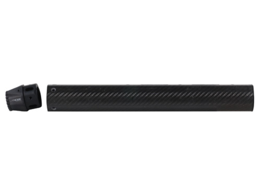 "Lancer Systems LCH Varmint Free Float Tube Handguard AR-15 Extended 15"" Rifle Length Carbon Fiber"