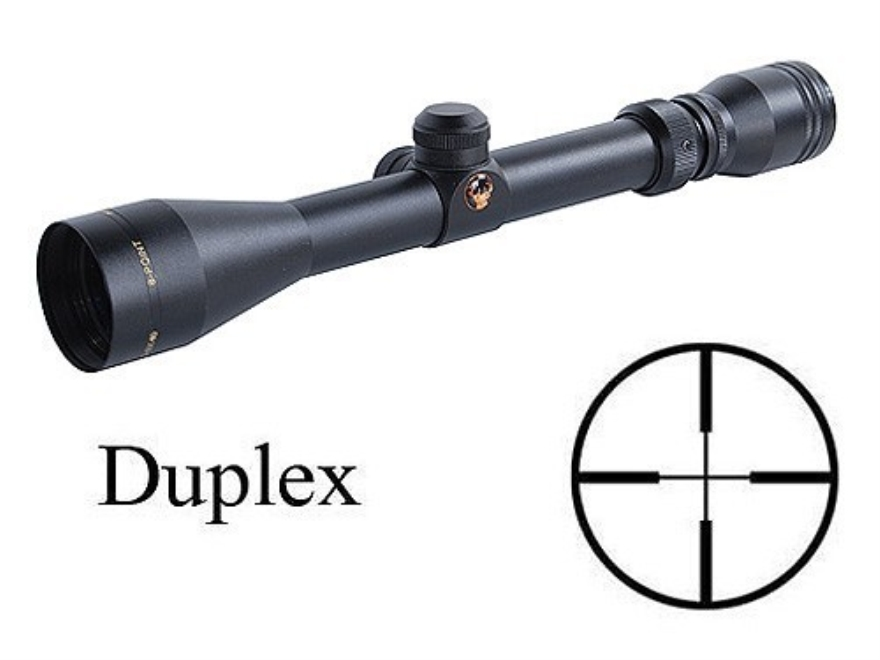 Thompson Center Bushnell Sharp Shooters Rifle Scope 3-9x 40mm Duplex Matte with Scope Bases and Rings