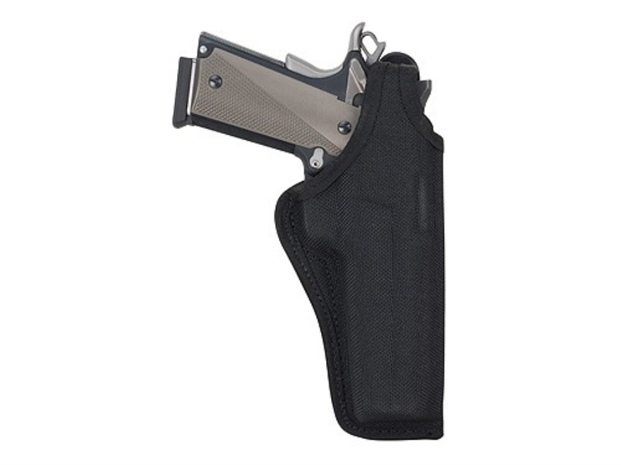 "Bianchi 7001 AccuMold Thumbsnap Holster Colt King Cobra, Python, S&W K, L-Frame 4"" Barrel Nylon Black"