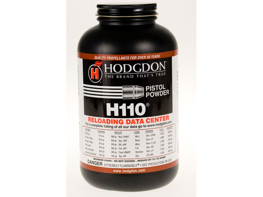 Hodgdon H110 Smokeless Gun Powder