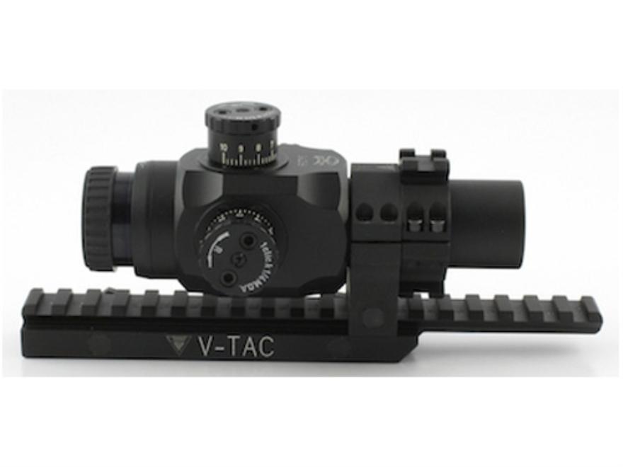 Valdada IOR Tactical Rifle Scope 30mm Tube 3x 25mm 223 BDC Turret Illuminated CQB Retic...