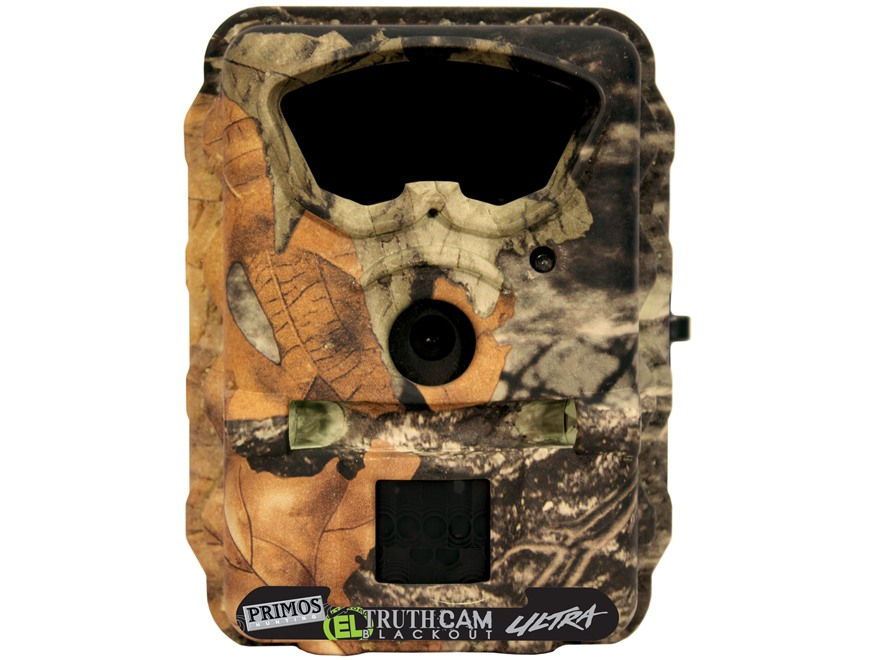 Primos Ultra Blackout EL Black Flash Infrared Game Camera 4.0 MP Matrix Camo