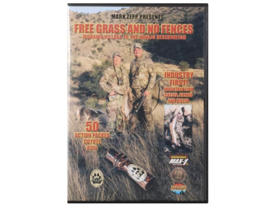 "Zepp's Video ""Free Grass And No Fences"" Predator Hunting DVD"