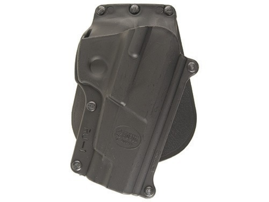 Fobus Paddle Holster Right Hand Ruger P85, P89 Polymer Black
