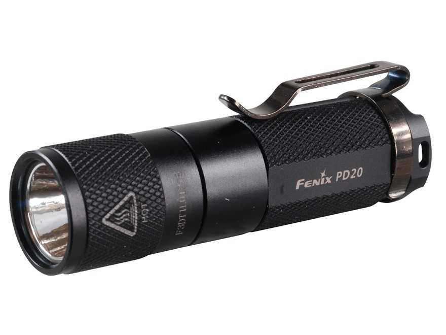 Fenix PD20 Flashlight White LED Aluminum Black