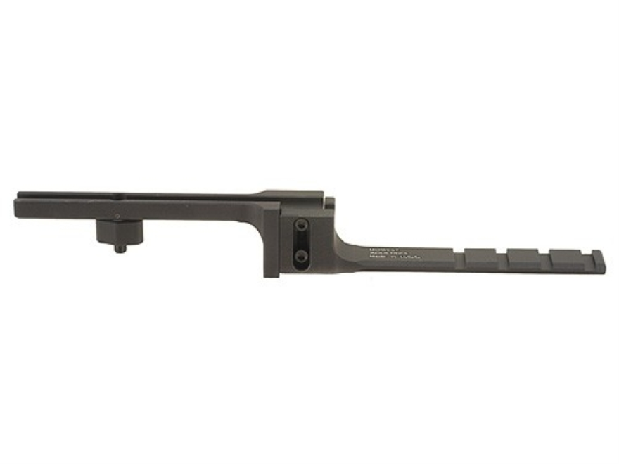 Midwest Industries Adjustable Cantilever Scope Mount AR-15 A2 Aluminum Matte